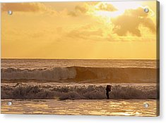Enter The Surfer Acrylic Print