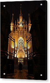 Entering Cathedral Acrylic Print by Alex Sukonkin