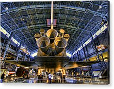 Enterprise Engines Acrylic Print