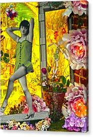 Enticing Antics  Acrylic Print