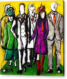 Entourage Acrylic Print by Helen Syron
