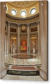 Entrance Hall In City Hall, Opened Acrylic Print by Panoramic Images