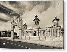 Entrance Of A Winery, Chateau Cos Acrylic Print