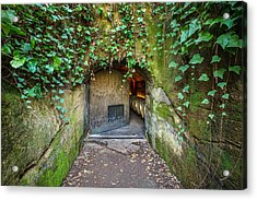 Entrance To A Winery Acrylic Print by Francesco Emanuele Carucci