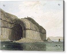 Entrance To Fingals Cave, Staffa Acrylic Print
