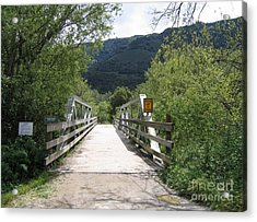 Entrance To Garland Park Acrylic Print