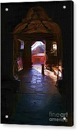 Entrance To The Church Of Atotonilco Acrylic Print