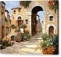 Entrata Al Borgo Acrylic Print