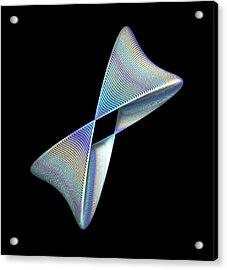 Entrepreneurs Choice - 3d Fractal Acrylic Print by Faye Symons