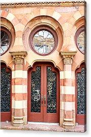 Entry Charleston Acrylic Print by William Dey