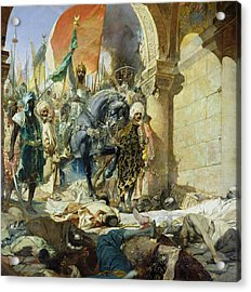 Entry Of The Turks Of Mohammed II Acrylic Print