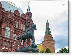 Entry To Red Square - Moscow Russia Acrylic Print