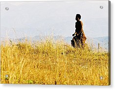 Acrylic Print featuring the photograph Entsambama by Carlee Ojeda