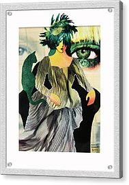Envy Acrylic Print by Eve Riser Roberts