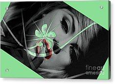 Envy Acrylic Print by Tbone Oliver