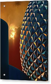 Epcot Acrylic Print by Kellice Swaggerty