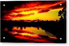 Epic Reflection Acrylic Print