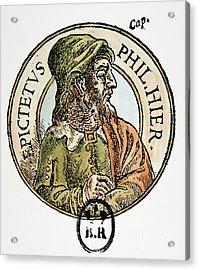 Epictetus Acrylic Print by Granger