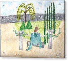 Acrylic Print featuring the photograph Epidaurus  by Deborah Moen