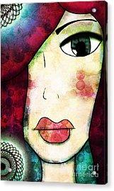 Epiphany Acrylic Print by Angelica Smith Bill