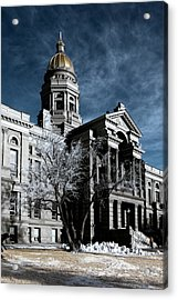 Equality State Dome Acrylic Print by Greg Collins