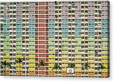 Equalizer Acrylic Print