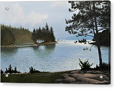 Equanimity Acrylic Print by Kenneth M  Kirsch