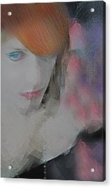 Equanimity Portrait Acrylic Print