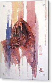 Erasto Man Of Peace Acrylic Print by Ray Agius