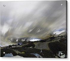 Erasure Of The Branding 17 Acrylic Print by Ingrid Van Amsterdam