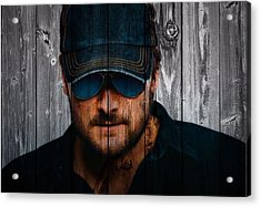 Eric Church Acrylic Print by Dan Sproul
