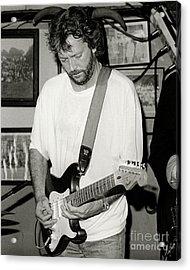 Eric Clapton 1988 Acrylic Print by Chuck Spang