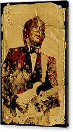 Eric Clapton 2 Acrylic Print