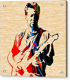 Eric Clapton Collection Acrylic Print by Marvin Blaine
