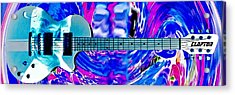Eric Clapton Guitar Acrylic Print by Anthony Caruso