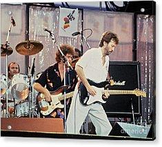 Eric Clapton Live Aid 1985 Acrylic Print by Chuck Spang