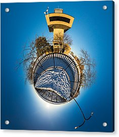 Erie Basin Marina Observation Tower Acrylic Print