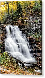 Acrylic Print featuring the photograph Erie Falls by David Stine