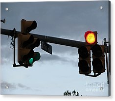 Acrylic Print featuring the photograph Erie Road  by Michael Krek