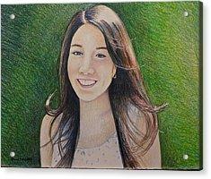 Erika's Portrait Acrylic Print