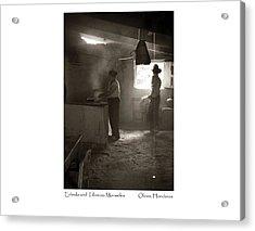 Erlinda And Tiburcio Monueles Acrylic Print