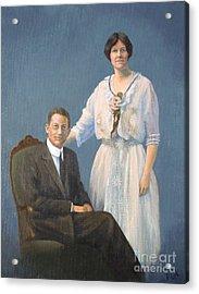 Ernest And Helen Barnes Acrylic Print