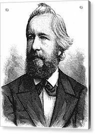 Ernst Haeckel Acrylic Print by Universal History Archive/uig
