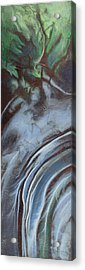 Erosion Acrylic Print by Carlynne Hershberger