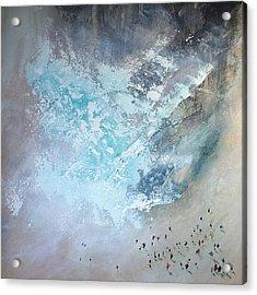Erosion Acrylic Print by Neil McBride