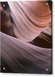 Erosion Trails Acrylic Print