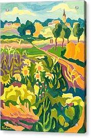 Erpart Legend, 2007 Oil On Board Acrylic Print