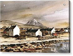 Errigal From Gola Island Donegal Acrylic Print