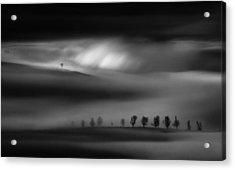 Eruption Of Light Acrylic Print