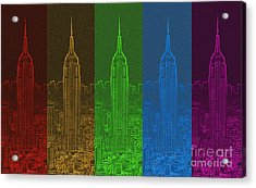 Esb Spectrum Acrylic Print by Meandering Photography